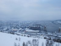 Rough Murmansk seen from above