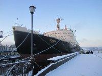 Nuclear(!) icebreaker Lenin