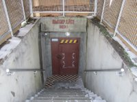 Entrance to nuclear missile silo