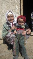 Pamir grandma/-son