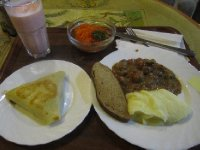 Proper Soviet style canteen food