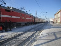 The train at Perm
