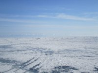 View across the Lake Baikal