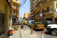 Dakar streets