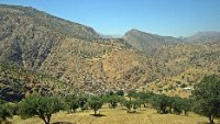 Kurdish Mountainside Village