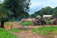 The main(!) border into Guinea