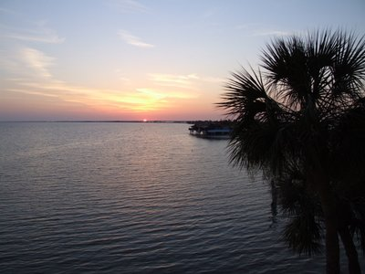 sunset on Tampa Bay