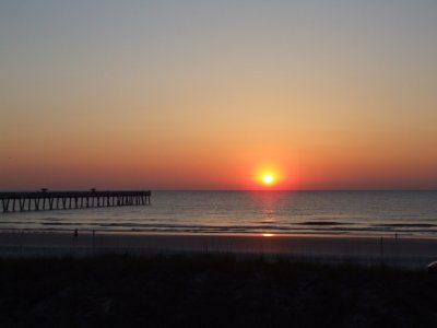 Sunrise in Jacksonville Beach