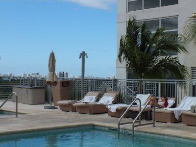 Pool 7th floor