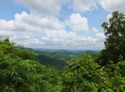 Overlook in the valley
