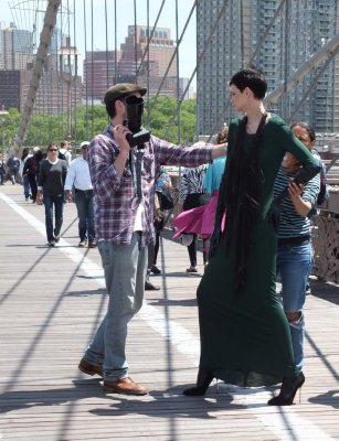 Photoshoot at the Brooklyn Bridge