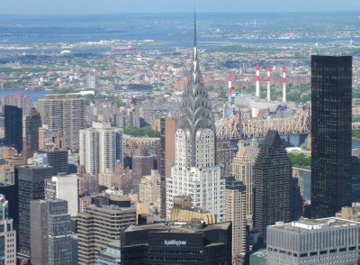 View on Chrysler Building