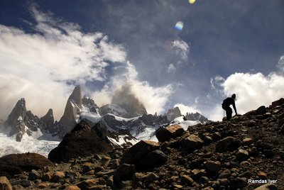 Mt.Fitzroy Base Camp, Patagonia- Ram Iyer