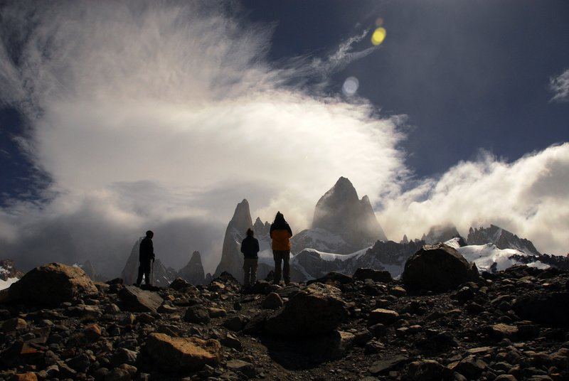 Atop Mt.Fitzroy, Patagonia, Argentina- Ram Iyer