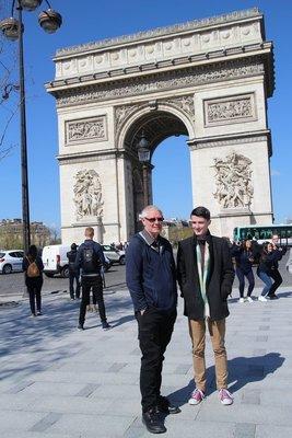Doug and Tom triumph in Paris