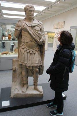 Pene meets Roman Emperor