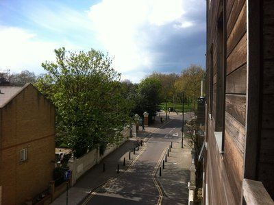 View from apartment - looking towards Victoria Park