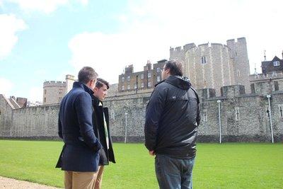 Boys at Tower