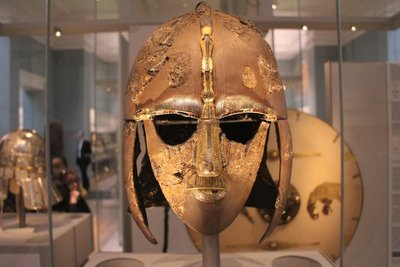 Sutton Hoo helmet from early AD 600s in Suffolk
