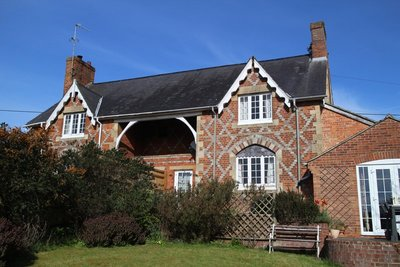 Our B&B in Great Bedwyn, near Marlborough, Wiltshire - best sleep of the trip so far!