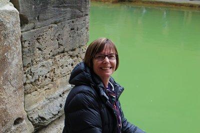 Pene at Roman Baths