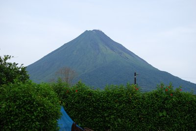 Arenal Volcano - View from my hostel