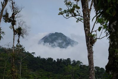 Arenal Volcano - View from base of Cerro Chato