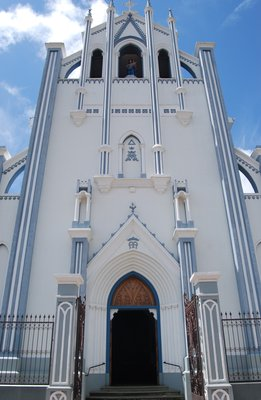 Beautiful church in Granada, Nicaragua