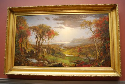Autumn - On the Hudson River