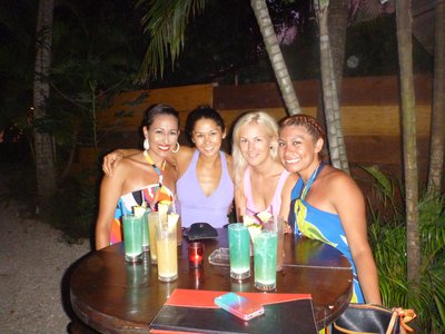 Happy Hour drinks with the ladies