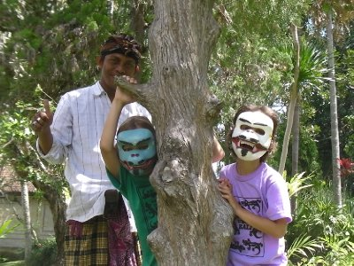 Mask Painting Ubud
