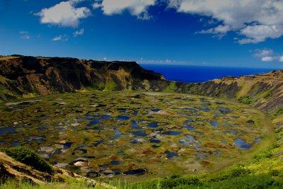 Rano Kau Volcanic Crater