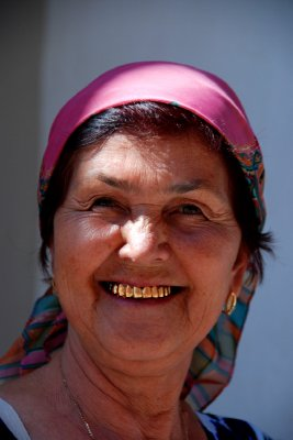 Local woman, Khiva