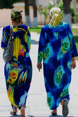 Local women, Samarkand