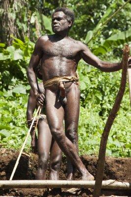 Local man, Pentecost Island