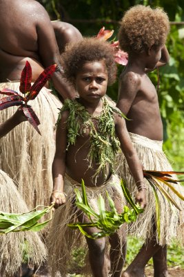 Local girl, Pentecost Island