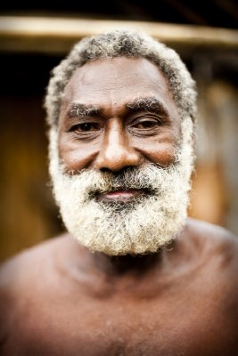 Local man, Pentecost Island