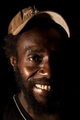 Local man, Santo Island