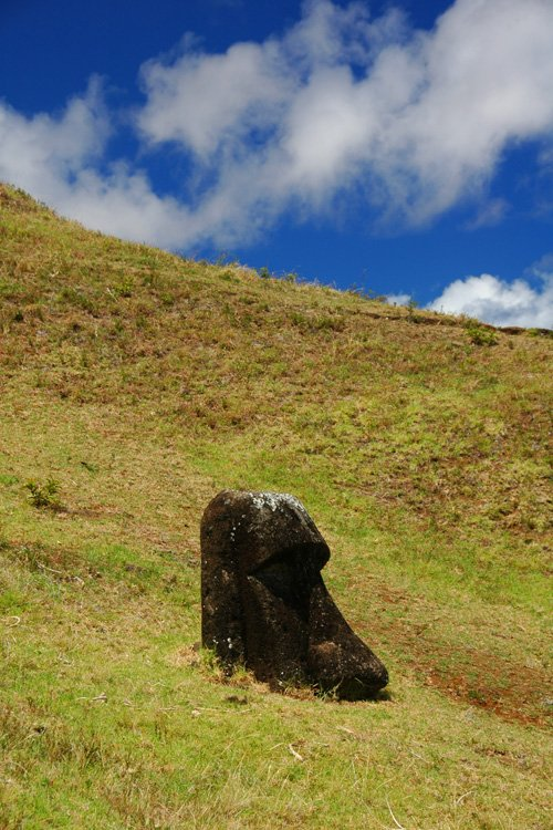 Rano Ranaku Moai quarry
