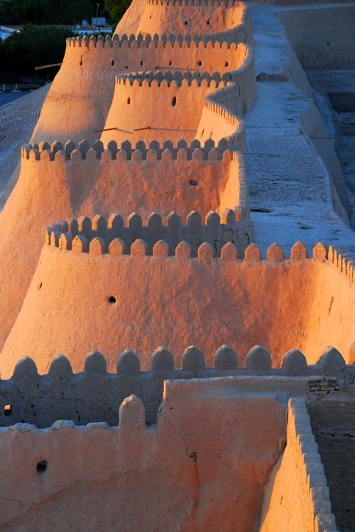 City wall, Khiva