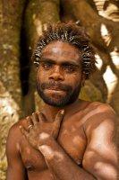Local man, Tanna Island