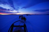 Sunrise/sunset in Swedish Lapland