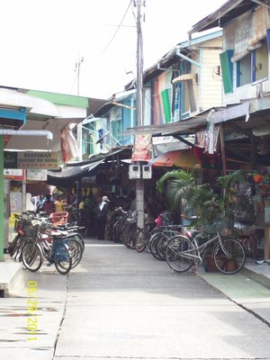 Market Place in Pulau Ketam
