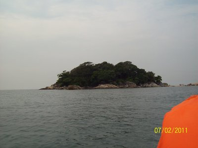 Island at Sea- Cherating, Malaysia