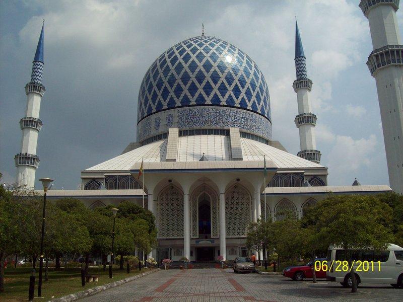 Blue Mosque - Shah Alam