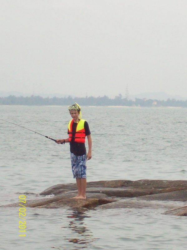 Alex Fishing - Cherating, Malaysia