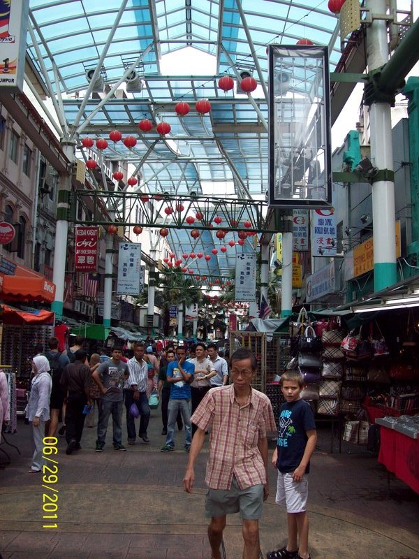 Thad on the hunt for a RC Car-Petaling Street