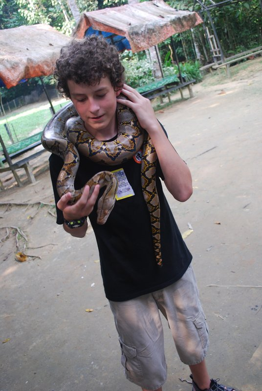 Alex and the Snake