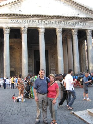 Mom and Dad at the Pantheon