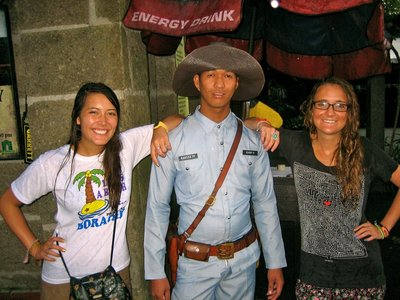 Naturally, had to pose with one of their guards because of how awesome his hat was